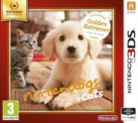Nintendogs And Cats Golden Retriever 3DS