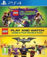 Lego DC Super Villains and Lego Batman Movie PS4