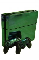ProSkin Folie Playstation 4 Chrome Green PS4