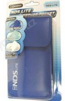 Leather Pocket Case Blue NDS LITE