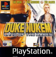 Duke Nukem Land of the Babes PS1 bez krabičky