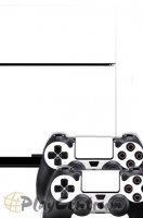 ProSkin Folie Playstation 4 White PS4