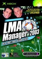 LMA Manager 2003 Xbox Original