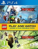 LEGO Ninjago Movie Video Game (Game and Film Double Pack) PS4
